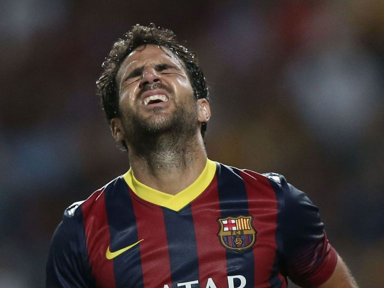 Cesc Fabregas: Injury worry