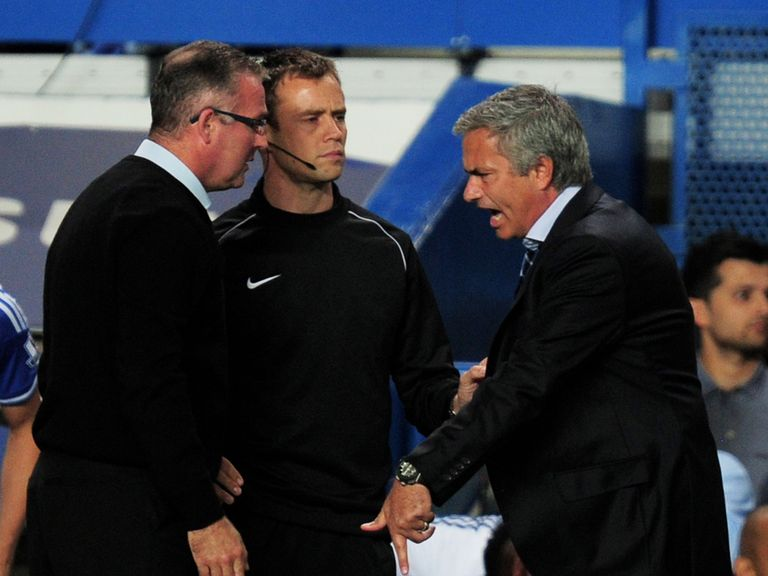 Paul Lambert: Furious at refereeing decisions at Stamford Bridge