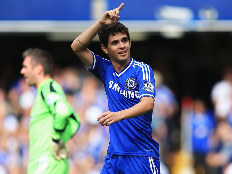 Oscar: Enjoying life under Mourinho