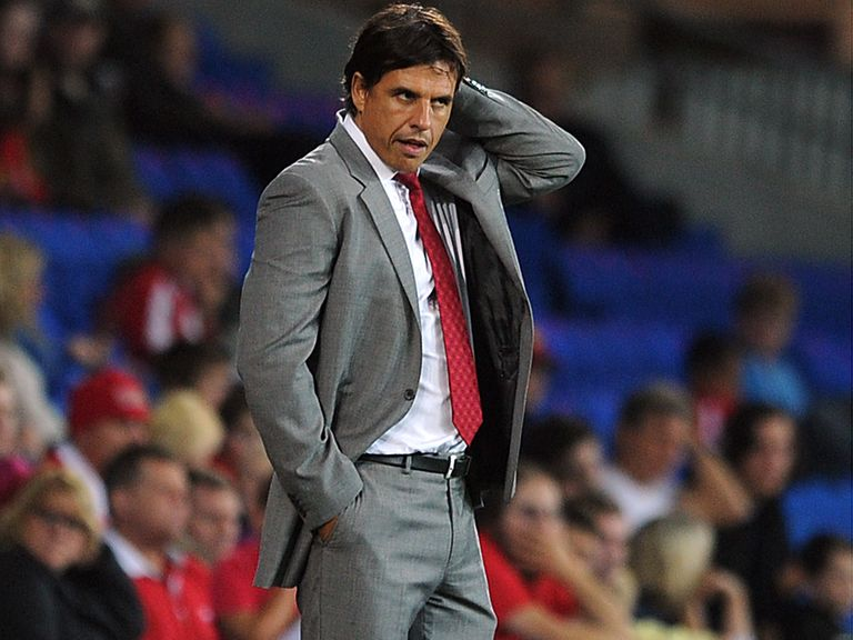 Chris Coleman: The Wales manager is in talks to extend his current deal