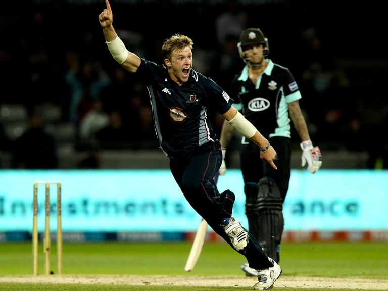 David Willey: Staying at Northamptonshire