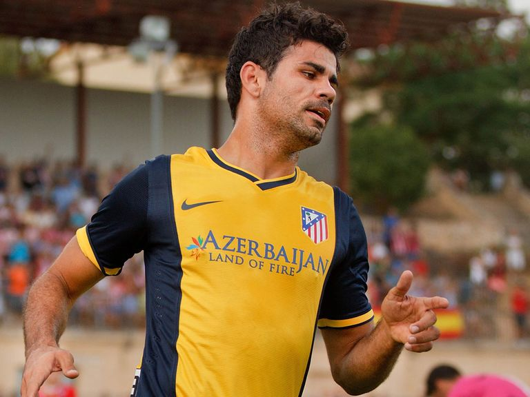 Diego Costa: Thrilled to have signed a new deal to stay at Atletico Madrid