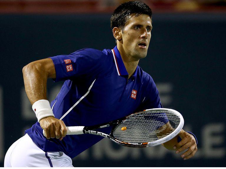 Novak Djokovic: Saves his best for the Grand Slam events