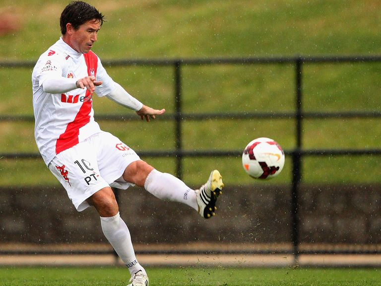 Harry Kewell: Ends his career in his native Australia with Melbourne Heart