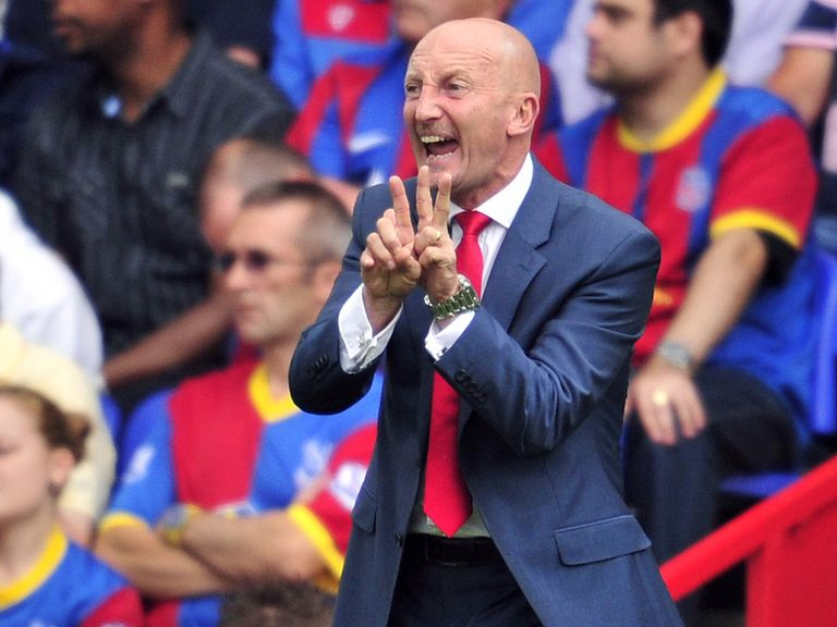 Ian Holloway: Set to ring the changes for Palace