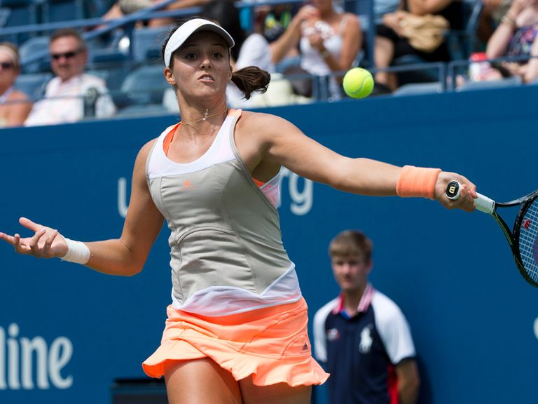 Laura Robson: Beaten by Li Na in the third round of the US Open