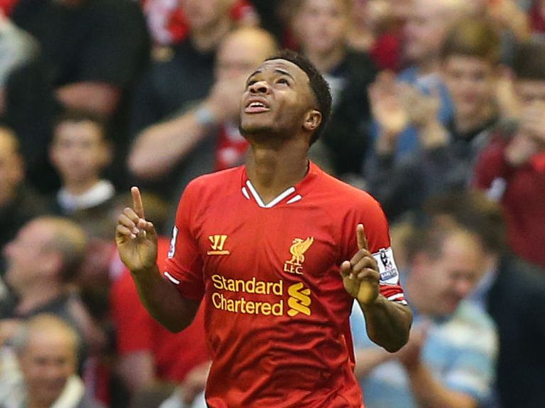 Raheem Sterling: Has responded to a 'bit of stick'