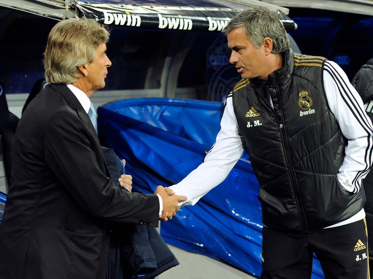 Manuel Pellegrini and Jose Mourinho will battle it out for the title.