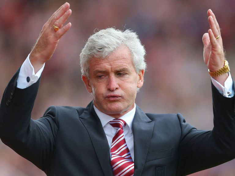 Mark Hughes: Still wants to strengthen his Stoke squad