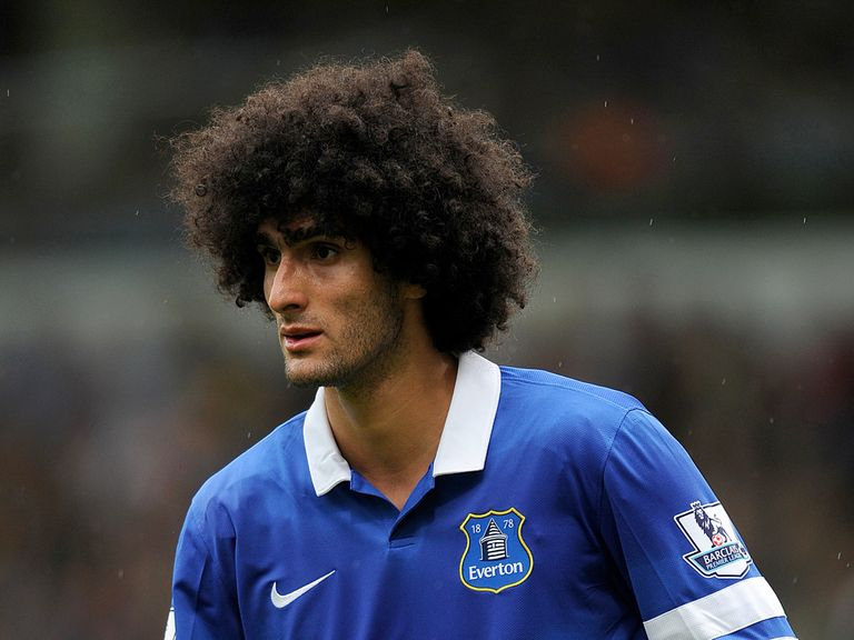 Marouane Fellaini: Joined Manchester United on Deadline Day