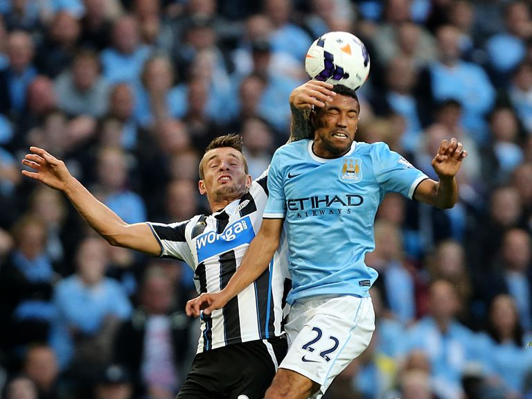 Clichy: Happy with City's opening effort