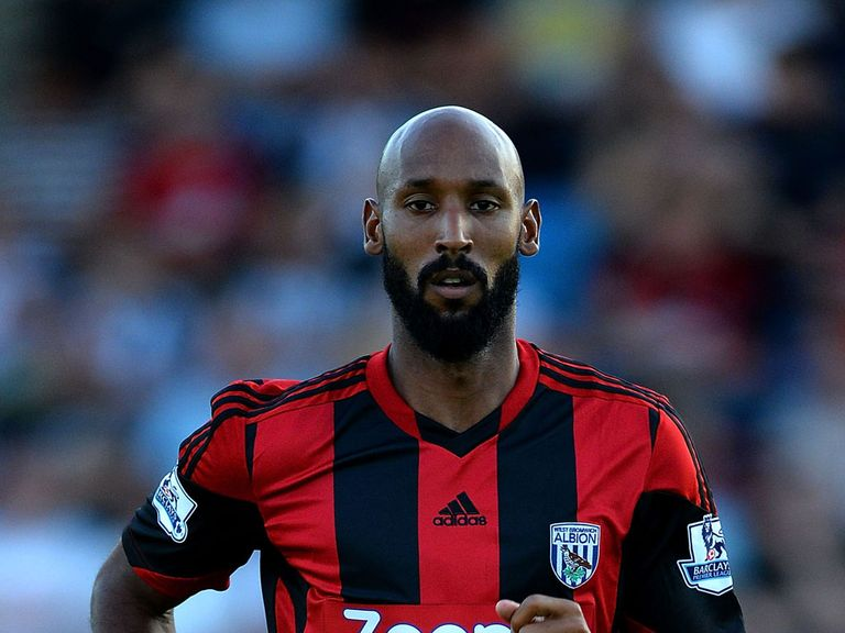 Nicolas Anelka: Won't feature in West Brom's clash with Everton