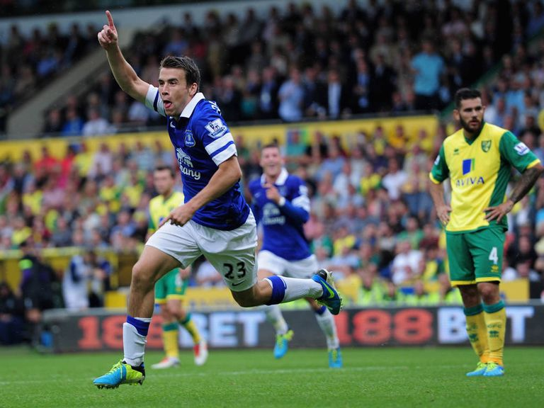 Seamus Coleman: A big price to find the net against Cardiff