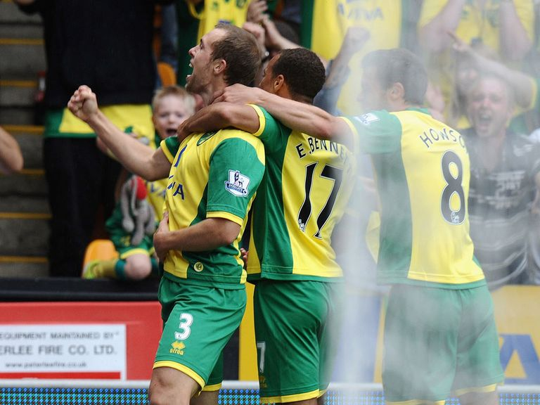 Steven Whittaker: Opened the scoring for Norwich