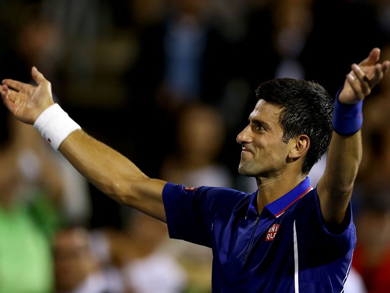Novak Djokovic: Looking to complete a full set of Masters titles