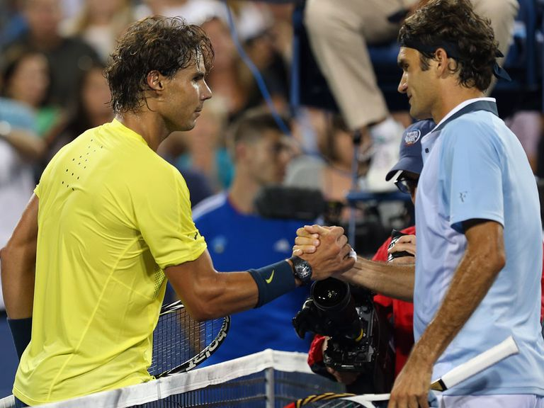 Rafael Nadal won an exciting tussle against Roger Federer