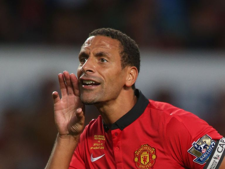 Rio Ferdinand: Looking forward to Monday's clash with Chelsea