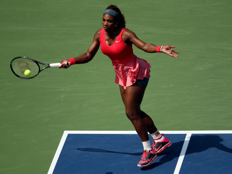 Serena Williams: Won comfortably