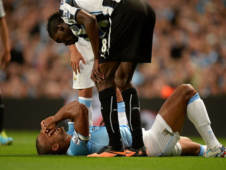 Vincent Kompany: Could be out for six weeks