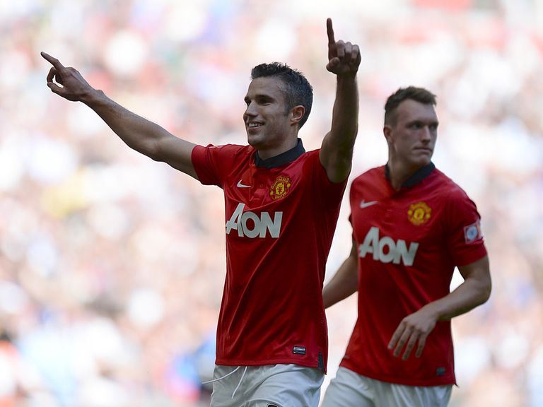 Robin van Persie: Proving well worth his hefty price tag