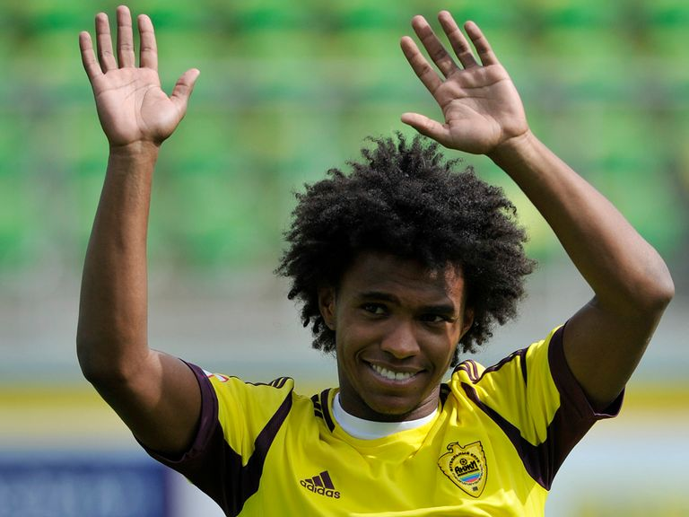 Willian: Up for sale as Anzhi owner looks to reduce financial commitment