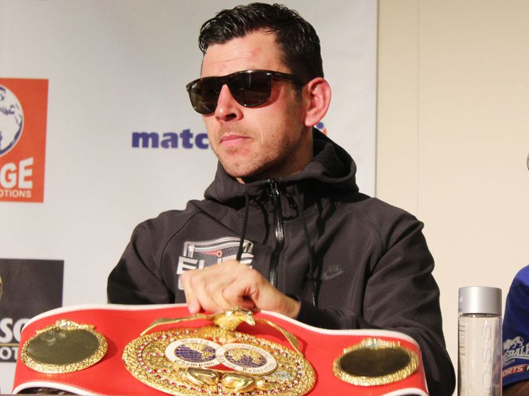 Darren Barker: Will fight Felix Sturm