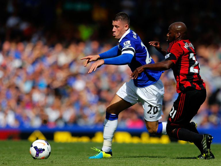 Ross Barkley: Keen to keep his place in Everton line-up