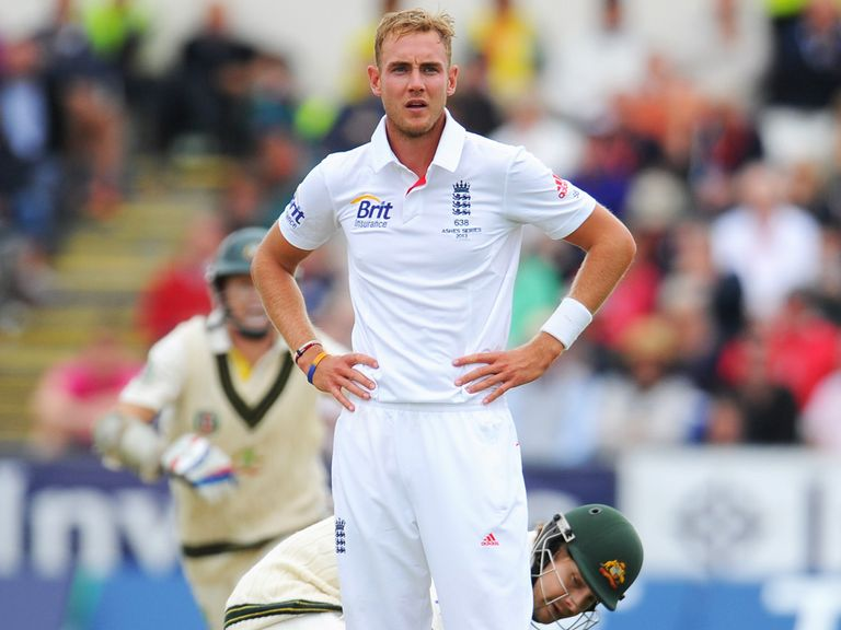 Stuart Broad: Could be 'leftovers' in the winter Ashes