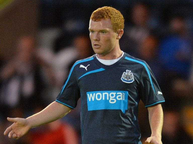 Adam Campbell: Newcastle youngster loaned to Carlisle