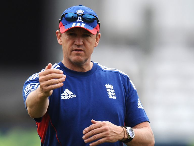 Andy Flower: His position is in the spotlight