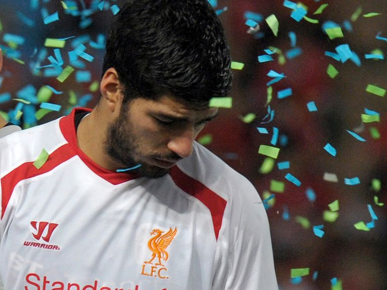 Luis Suarez: Hinting he may stay at Anfield