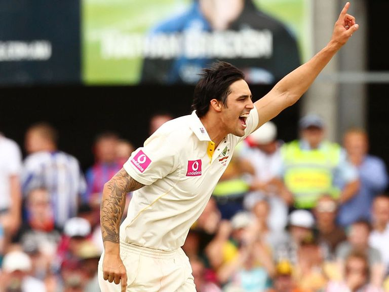 Mitchell Johnson: Eyeing a return to Australia's Test team