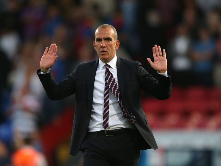 Paolo Di Canio: Insists there is no need to panic