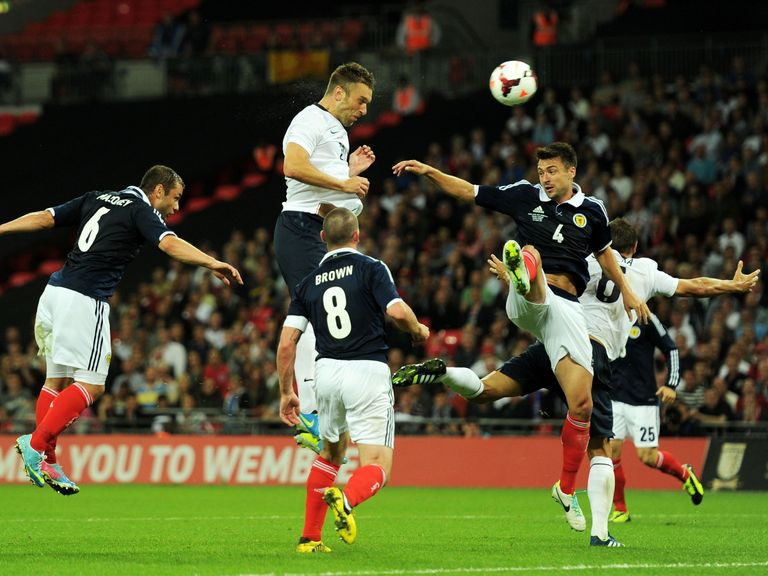 Rickie Lambert: Southampton striker makes an instant impact for England
