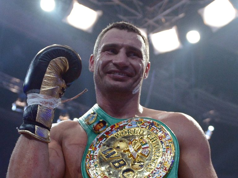 Vitali Klitschko: Last fight was against Manuel Charr in 2012