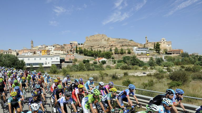 The 2014 Vuelta has four fewer summit finishes than the 2013 edition