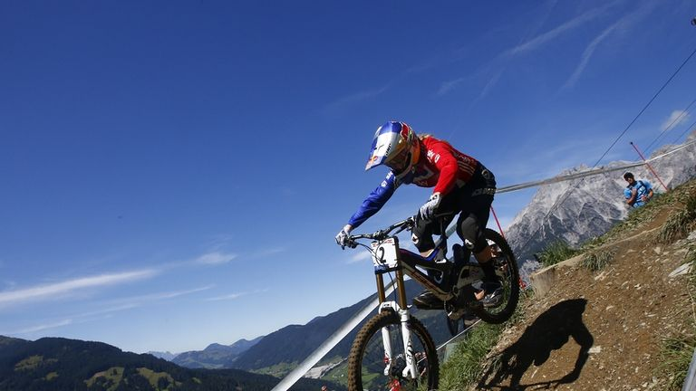 Rachel Atherton previously won the world title in 2008