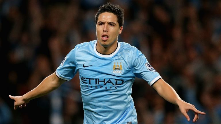 Samir Nasri: Happy at Manchester City but would like to play in America