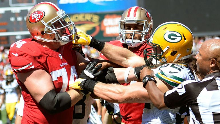 The 49ers and Packers will do battle once again on Sunday