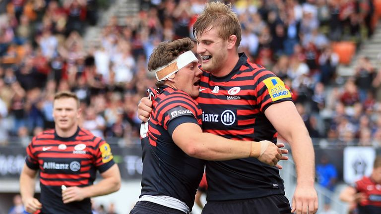 Saracens ready for huge clash with Toulouse at Wembley