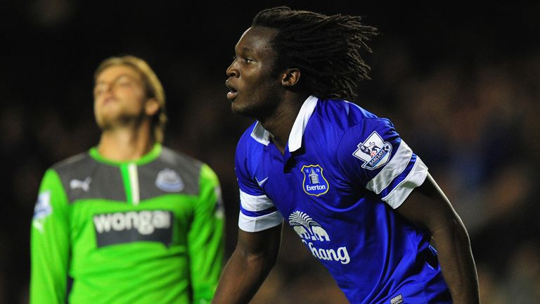 Romelu Lukaku: Impressive displays for Everton
