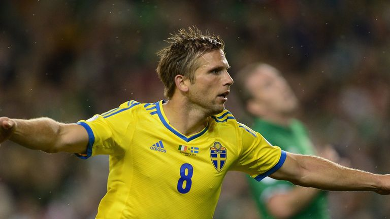 Anders Svensson: Record cap holder retires from Sweden internationals