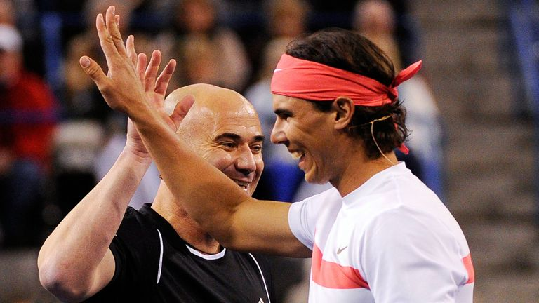 Andre Agassi: High praise for Rafa Nadal