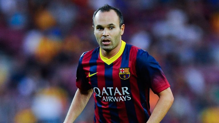 Andres Iniesta: Barcelona expect the midfielder to sign a new contract