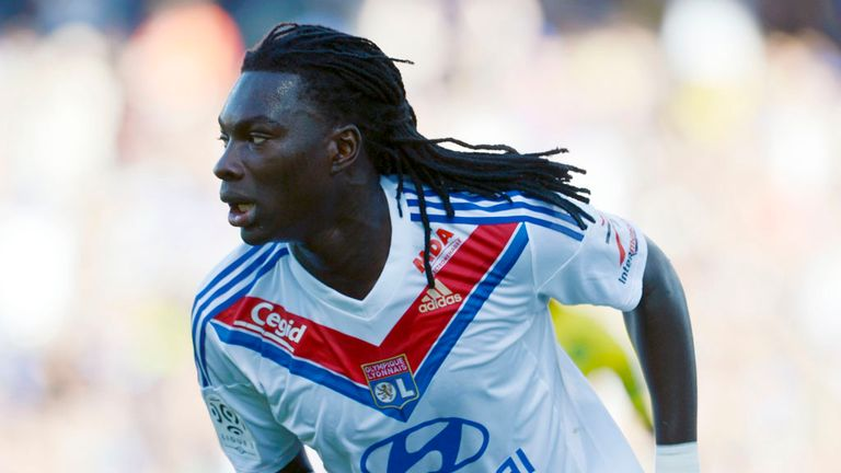 Bafetimbi Gomis: Current contract at Lyon will expire next summer