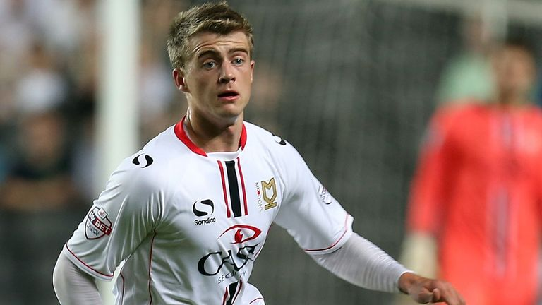 Patrick Bamford: On-loan MK Dons striker called into England U21 squad