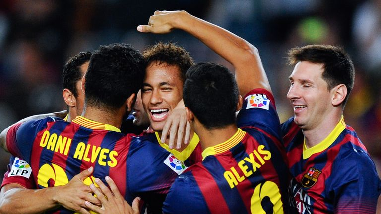 Neymar: Hoping to play in his first El Clasico this weekend