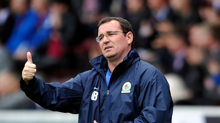 Gary Bowyer: The Blackburn boss insists he is not under pressure to sell