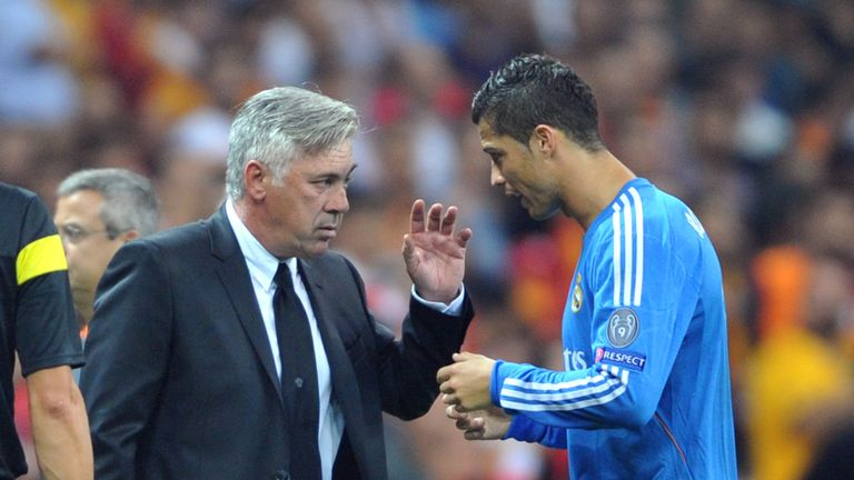 Carlo Ancelotti: Praised Gala for their first-half display