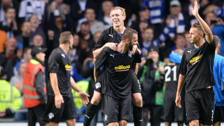 Greenock Morton stunned Celtic in the Scottish League Cup